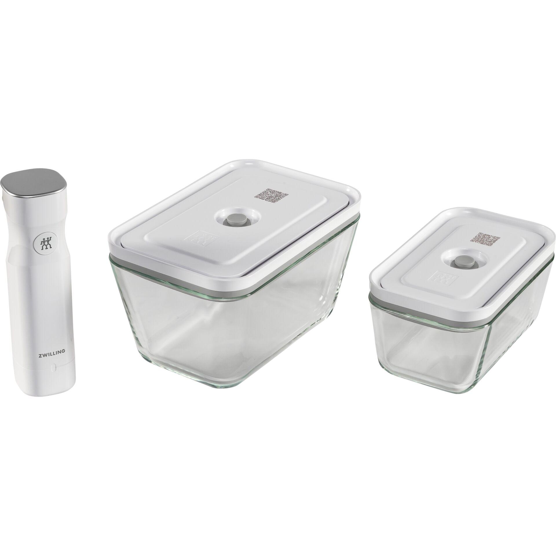 Zwilling fresh&save Vakuum- Starter-Set 7-tlg. Glas