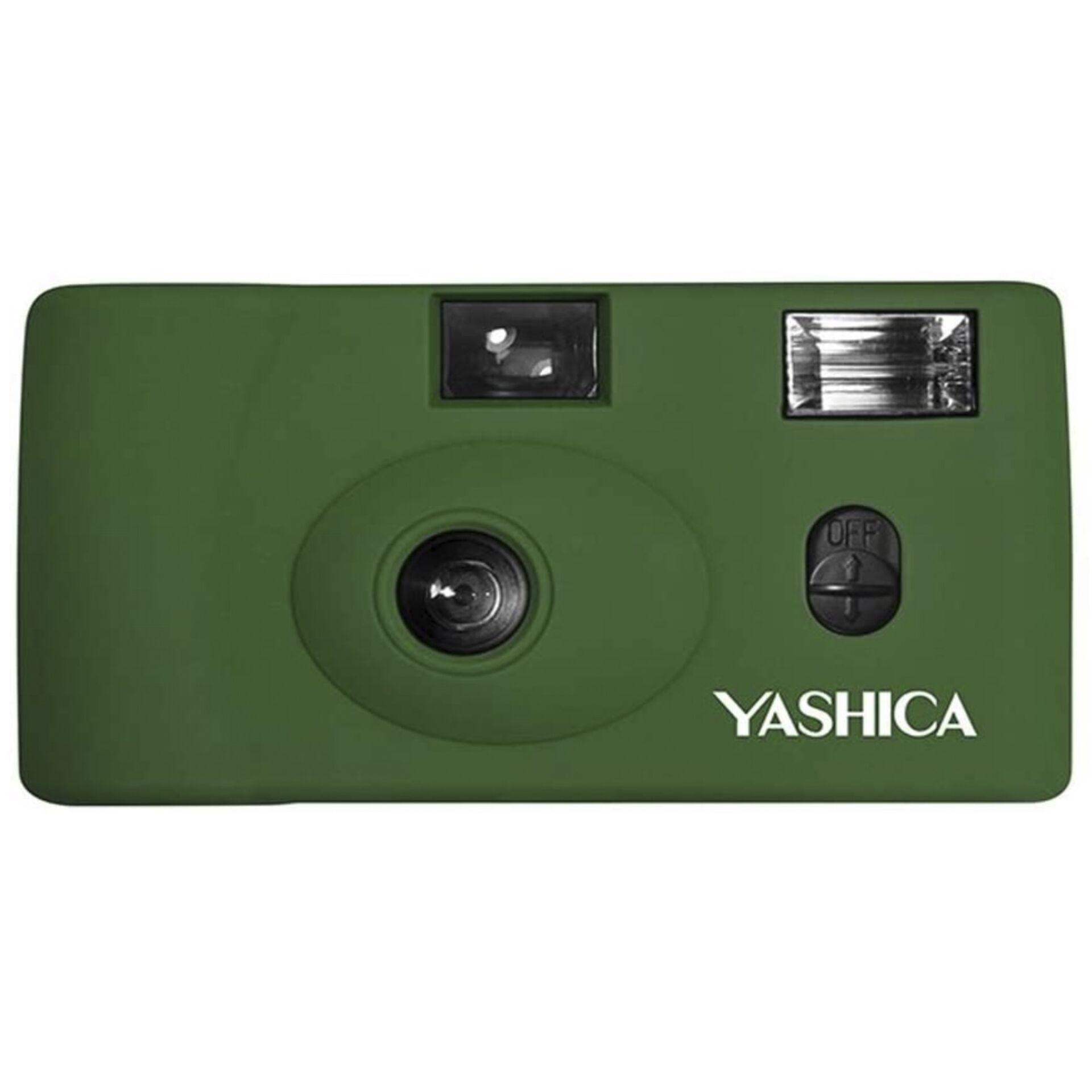 Yashica MF1 Snapshot Art grün
