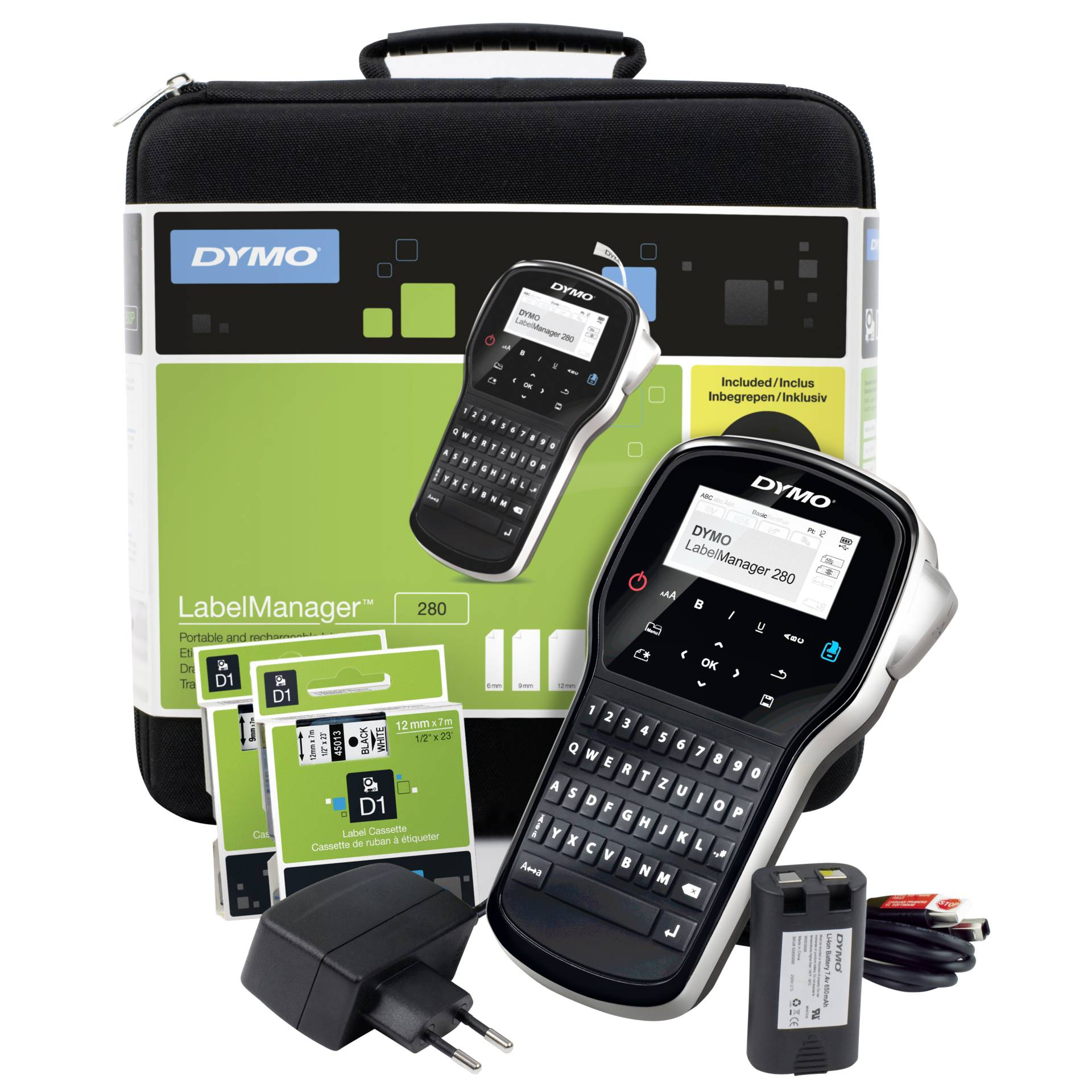 Dymo LabelManager 280 im Koffer