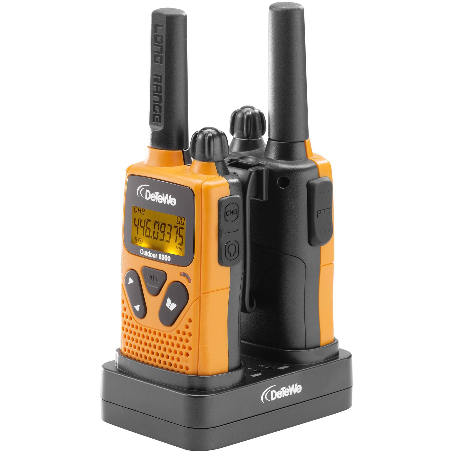 DeTeWe Outdoor 8500 PMR-Funkgerät
