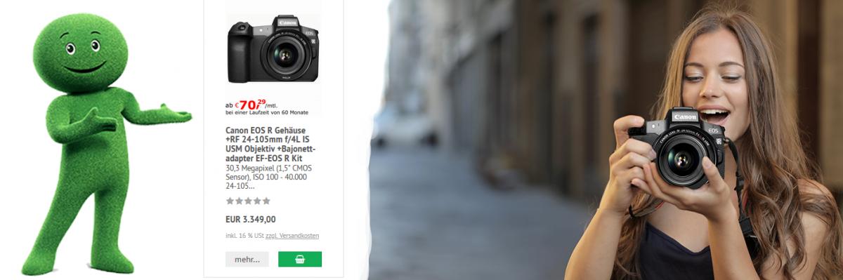 Digitale Systemkameras mit Wechselobjektiven