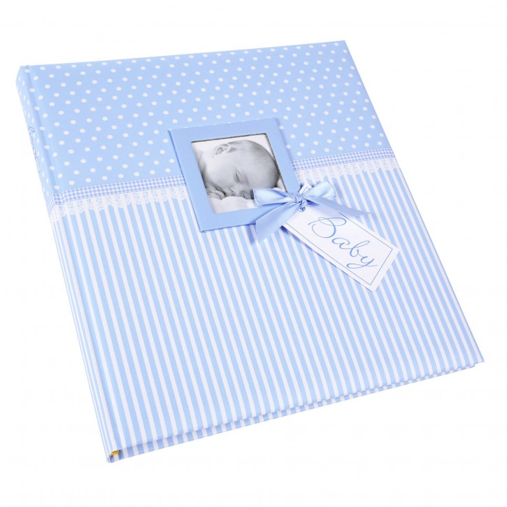 Goldbuch Sweetheart blau   30x31 60 Seiten Babyalbum        15802