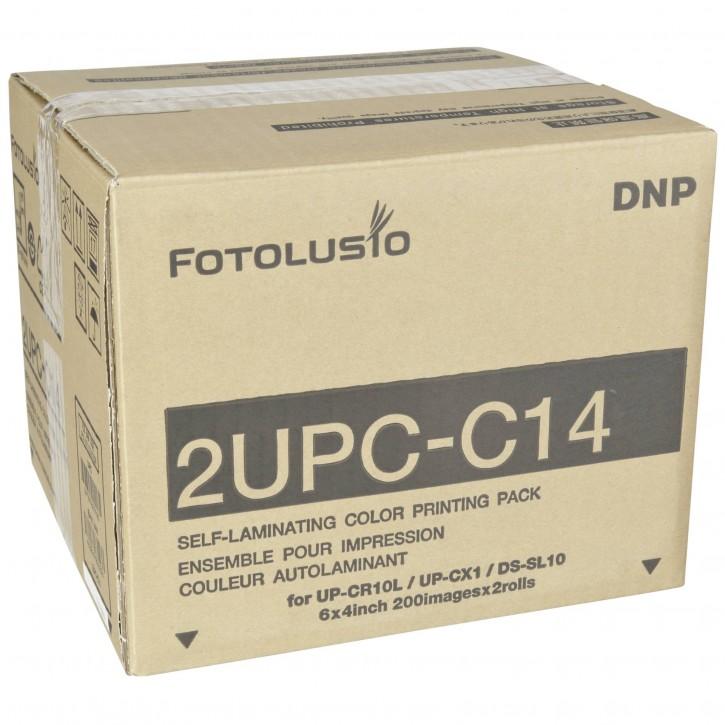 Sony/DNP 2UPC-C14 10x15 cm 2x 200 Blatt für Snap Lab