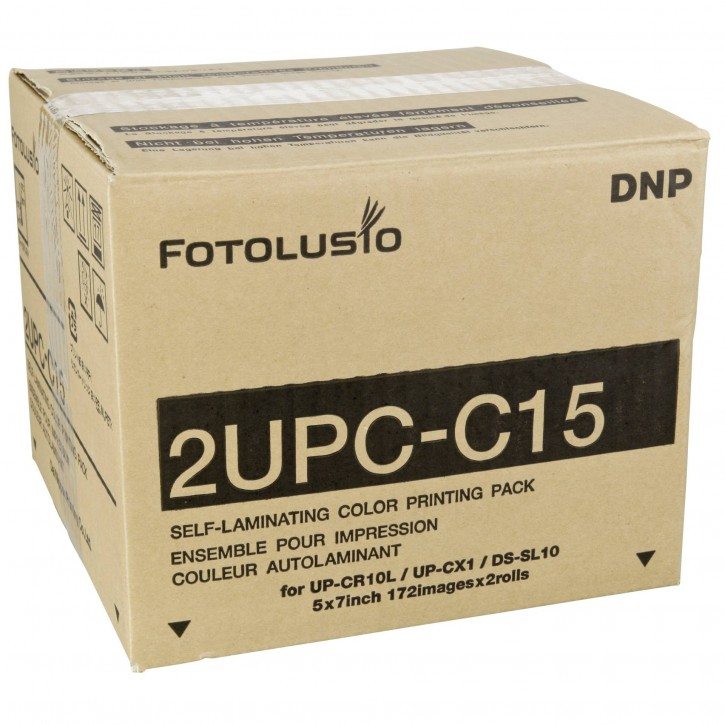 Sony/DNP 2UPC-C15 13x18 cm 2x 172 Blatt für Snap Lab