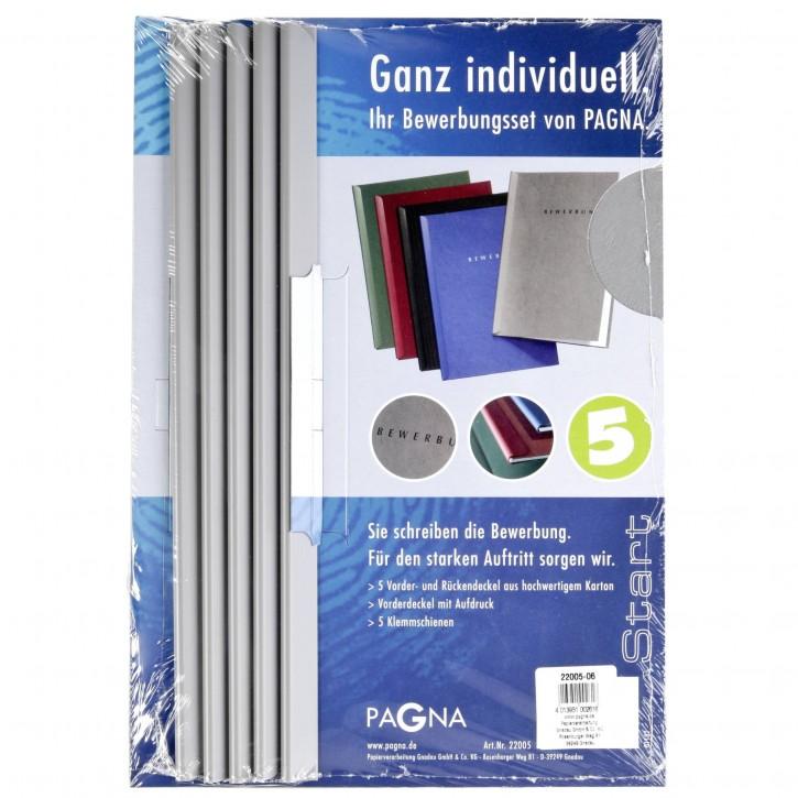 "Pagna Bewerbungsmappe Start"" grau                    P2200506"