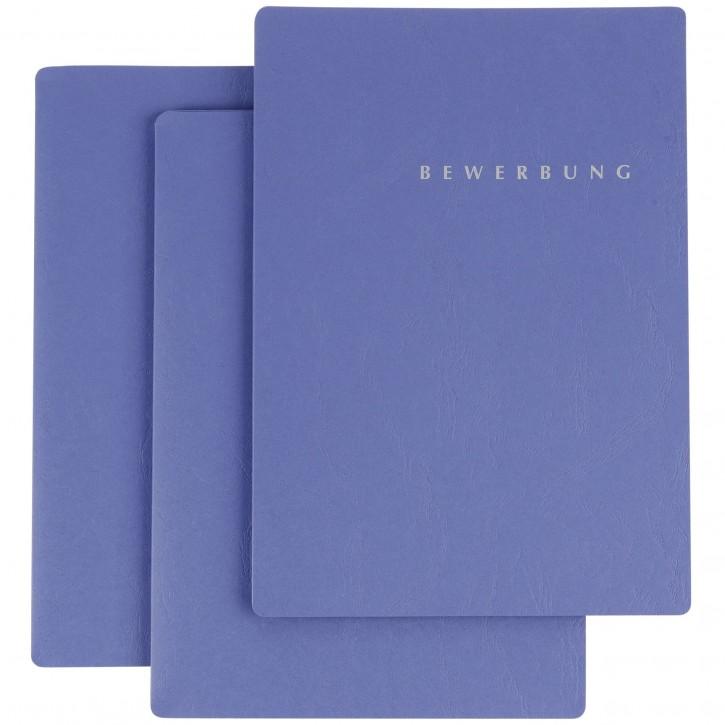"Pagna Bewerbungsmappe 3-er Set Select"" blau           P2201602"