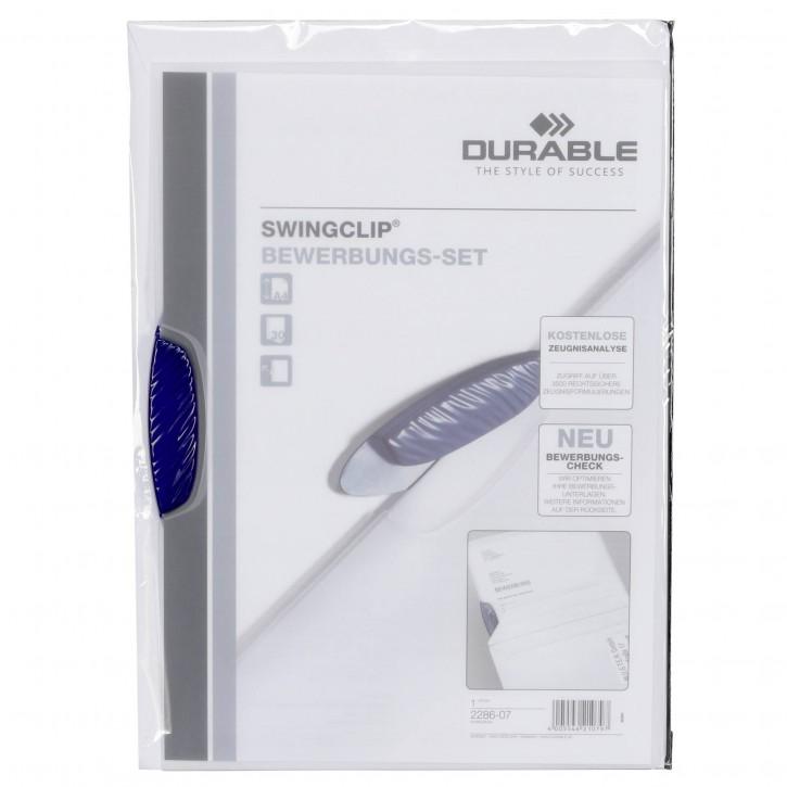 "Durable Bewerbungsmappe Swingclip""  inkl. Kuvert 228607"