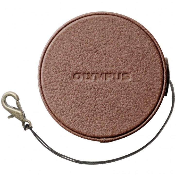 Olympus LC-60.5GL BRW Leder Objektivdeckel 60.5mm braun