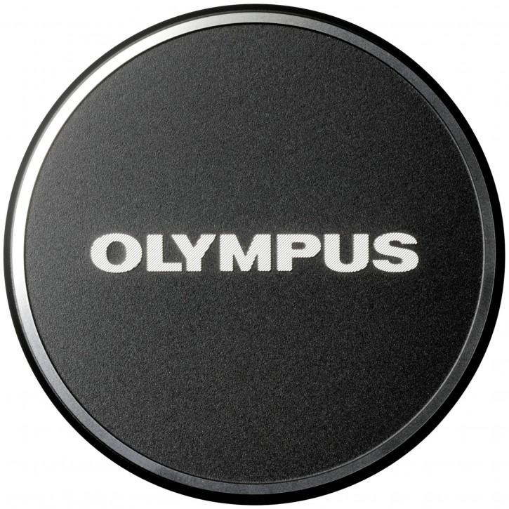 Olympus LC-48B Objektivdeckel für M1718 schwarz Metall