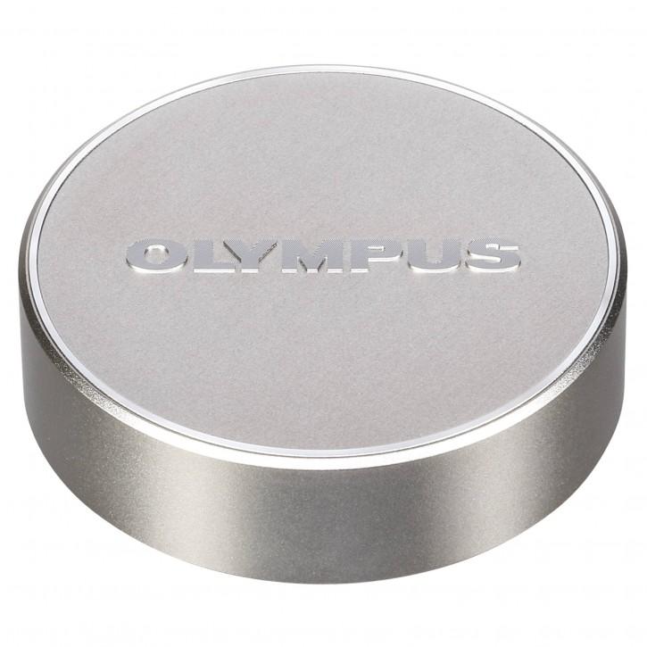 Olympus LC-61 Objektivdeckel für M7518 silber Metall