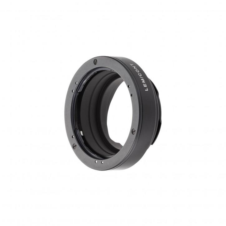 Novoflex Adapter Contax Yashica Objektiv an Leica M Kamera
