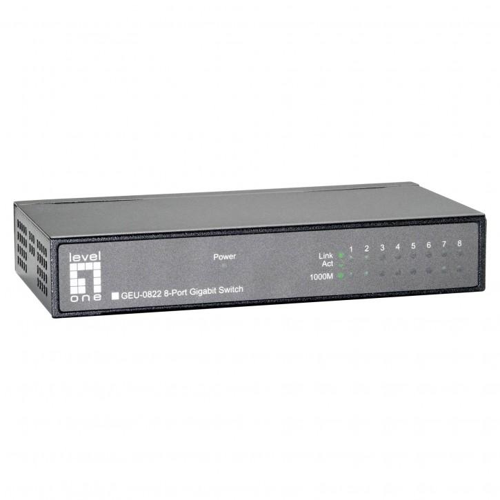 Level One GEU-0822 8-Port Gigabit Ethernet Switch