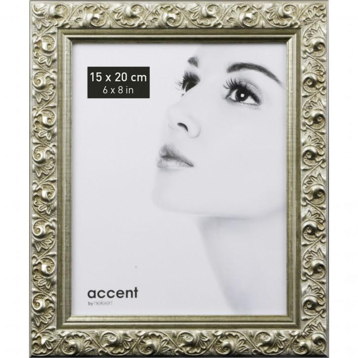 Nielsen Arabesque          15x20 Holz Portrait silber     8517003