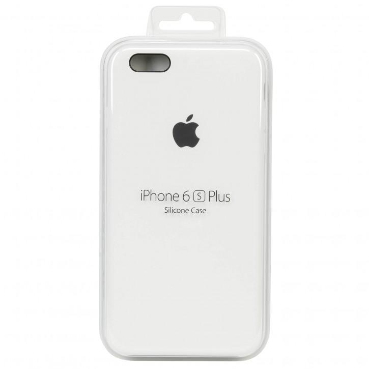 Apple iPhone 6s Plus Silicone Ca White