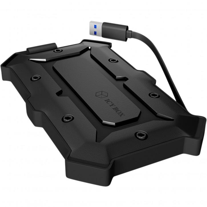 Raidsonic ICY BOX IB-276U3 wasserfestes Gehäuse für 2,5 HDD
