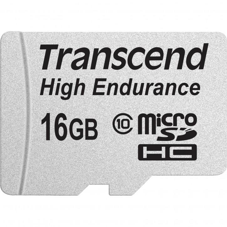 Transcend microSDHC         16GB Class 10 MLC High Endurance