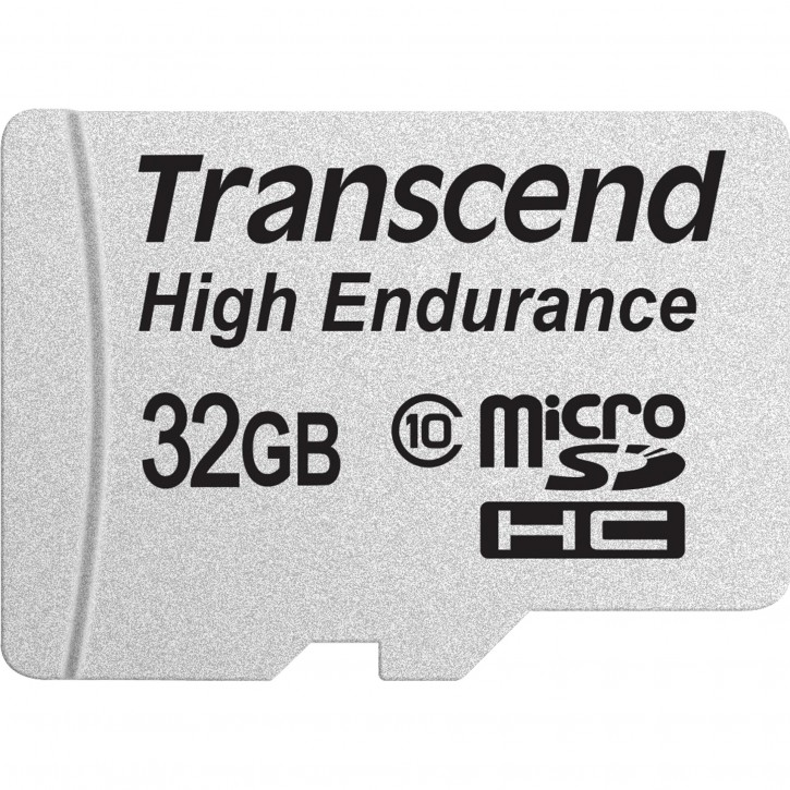 Transcend microSDHC         32GB Class 10 MLC High Endurance
