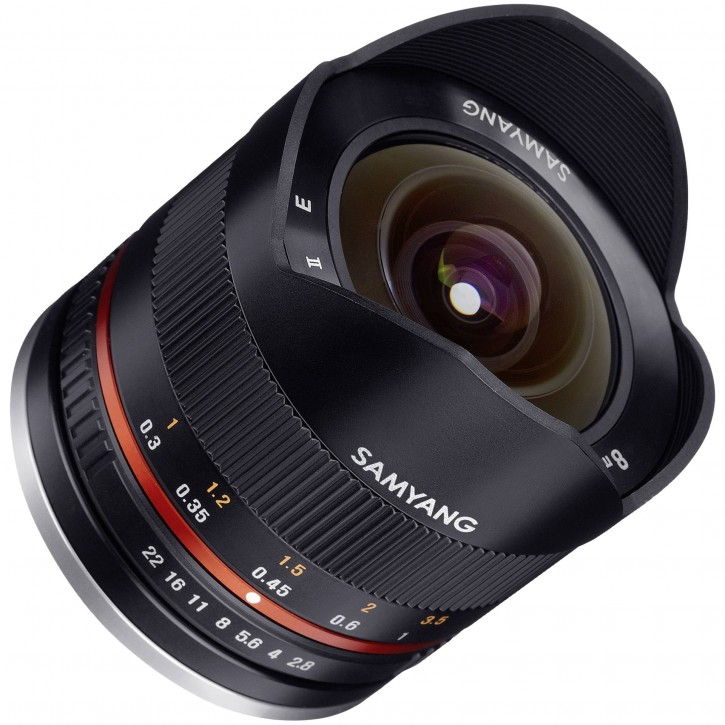 Samyang F 2,8/8 Fish-Eye II schwarz Sony E-Mount