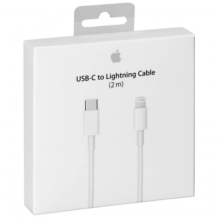 Apple Lightning auf USB-C Kabel 2m           MKQ42ZM/A
