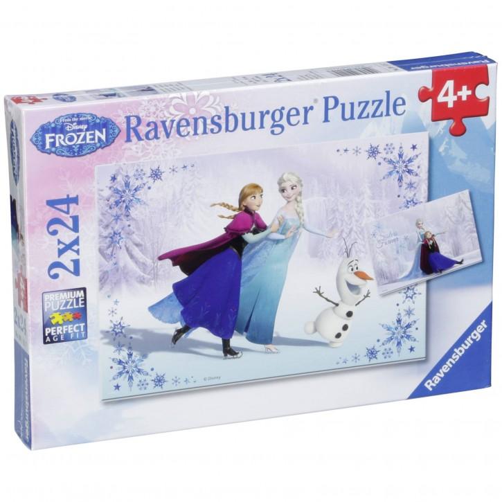 Ravensburger Schwestern für immer 2 X 24 Teile Puzzle