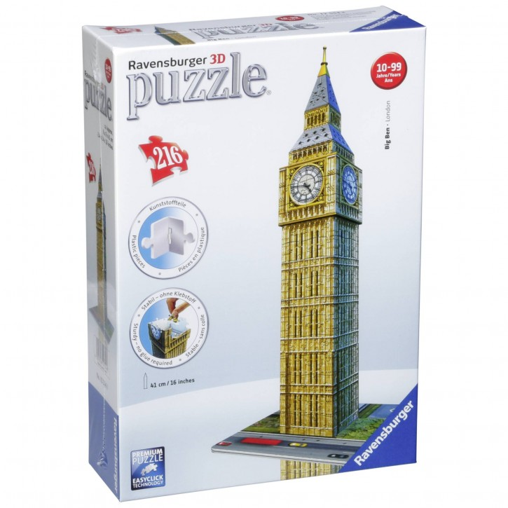 Ravensburger Big Ben 3D Puzzle-Bauwerke