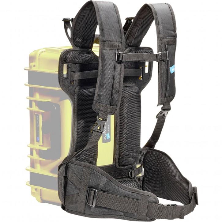 B&W BPS Rucksack System schwarz für Type 5000 / 5500 / 6000