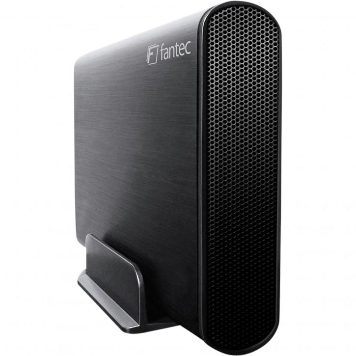"""FANTEC DB-AluSky U3-6G schwarz 3,5"""" SATA, USB 3.0, Aluminium"""