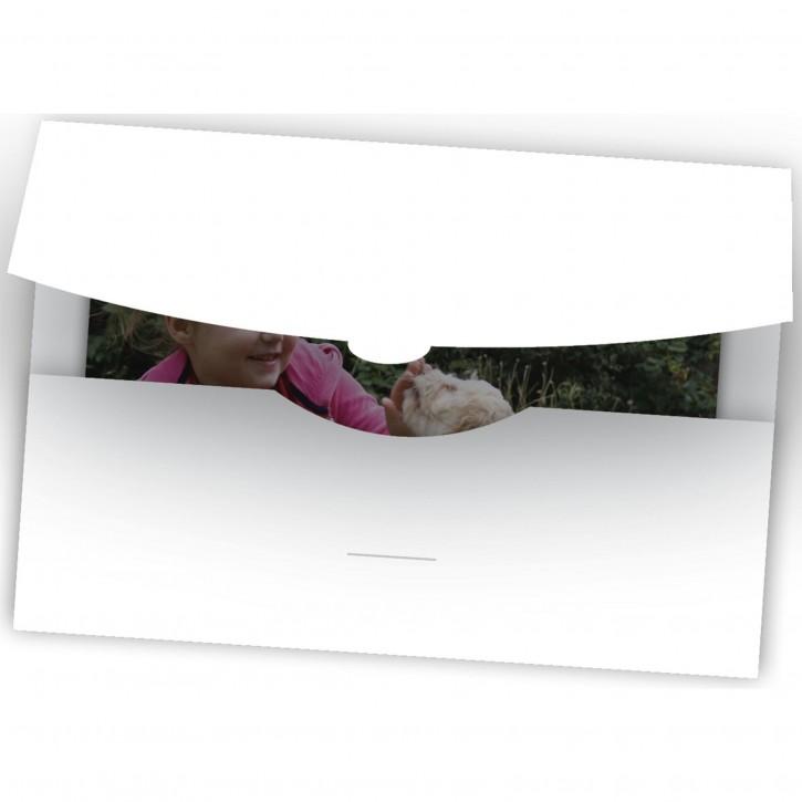 1x50 Daiber Schutzumschlag bis 15x20 weiß
