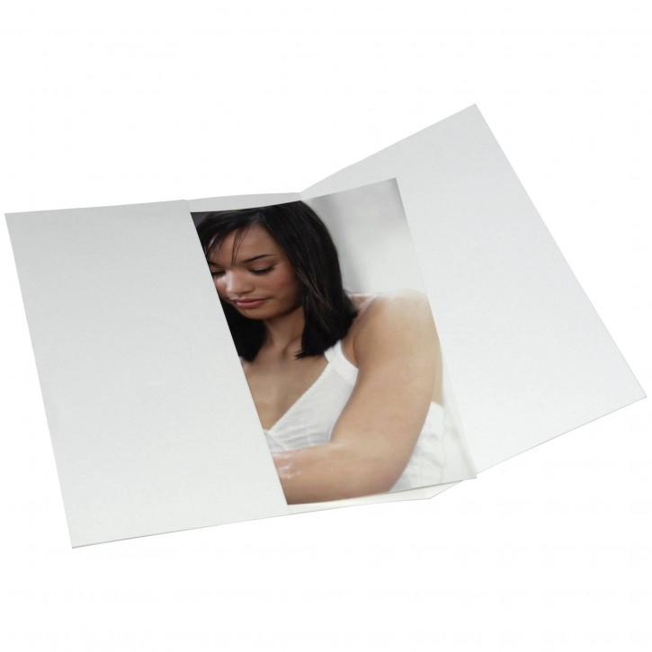 1x50 Daiber Schutzumschlag für 20x30 weiß