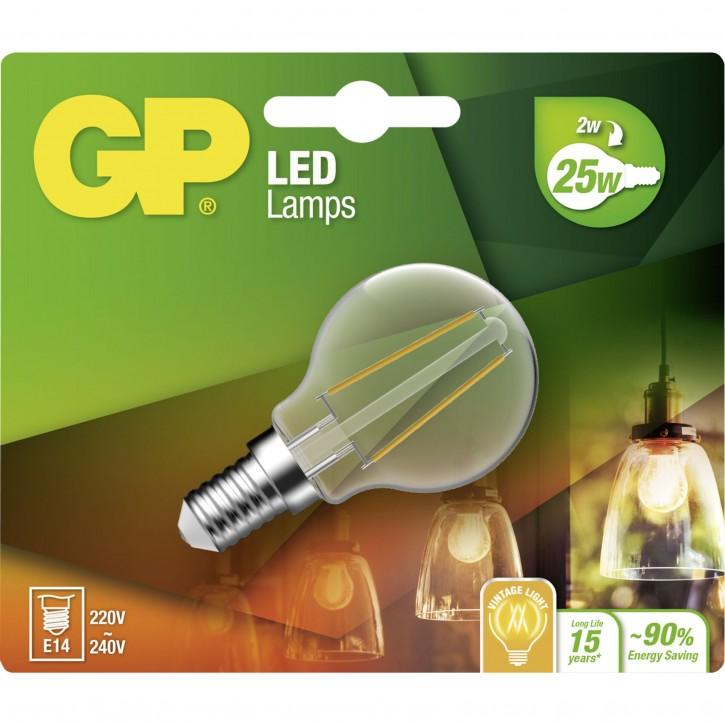 GP Lighting Filament Mini Globe E14 2W (25W) 250 lm    GP 078104