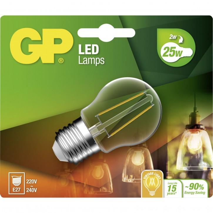 GP Lighting Filament Mini Globe E27 2W (25W) 250 lm    GP 078111