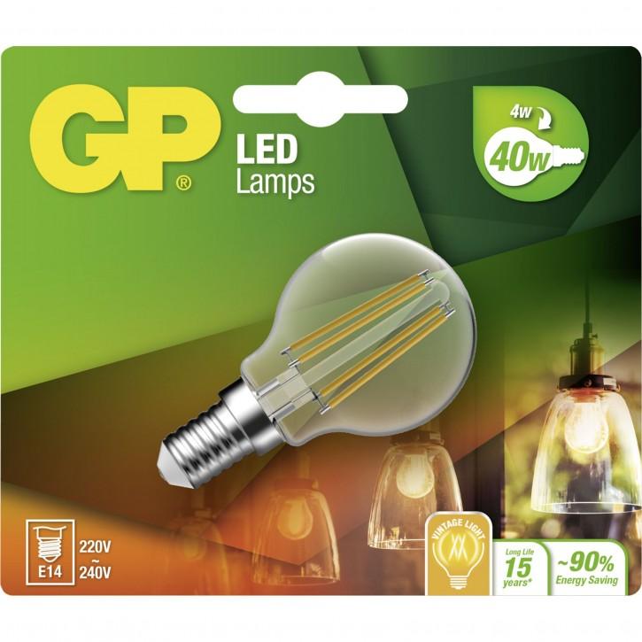 GP Lighting Filament Mini Globe E14 4W (40W)  470 lm   GP 078142