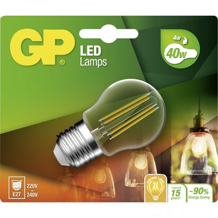 GP Lighting Filament Mini Globe E27 4W (40W)  470 lm GP 078159
