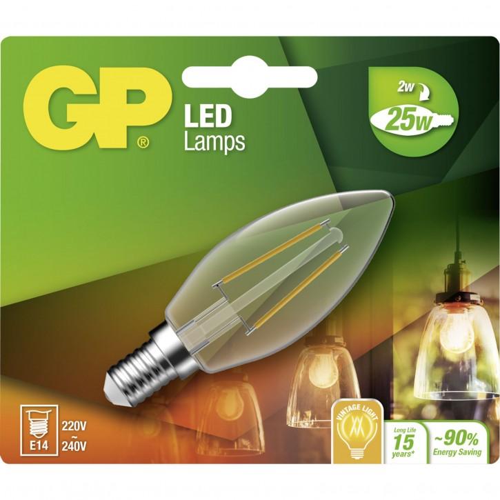 GP Lighting Filament Kerze E14 2W (25W)  250 lm       GP 078081