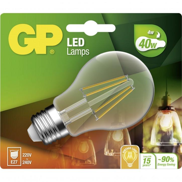GP Lighting Filament Classic E27 4W (40W) 470 lm        GP 078203