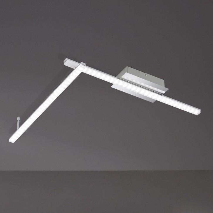 WOFI LED Deckenleuchte CLAY 2flg 10W fest 820lm