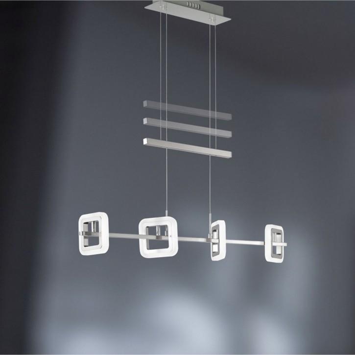 WOFI LED Pendelleuchte DAVIS 4flg 5W fest 400lm