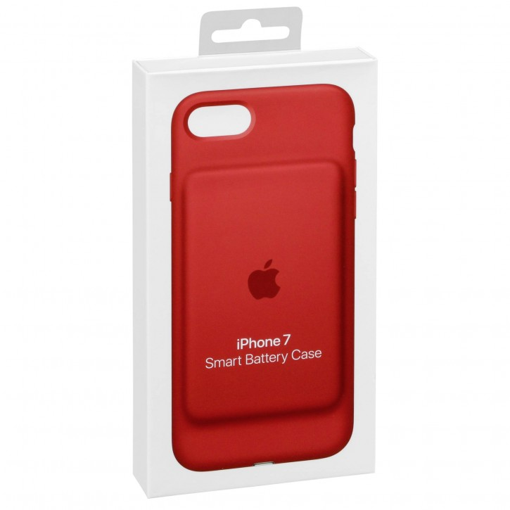 Apple iPhone 7 Smart Battery Case Red