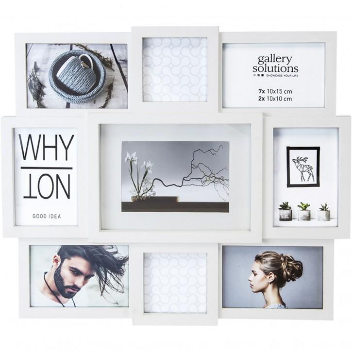 Nielsen Why Not Collage weiß Kunststoff Galerie       8999333