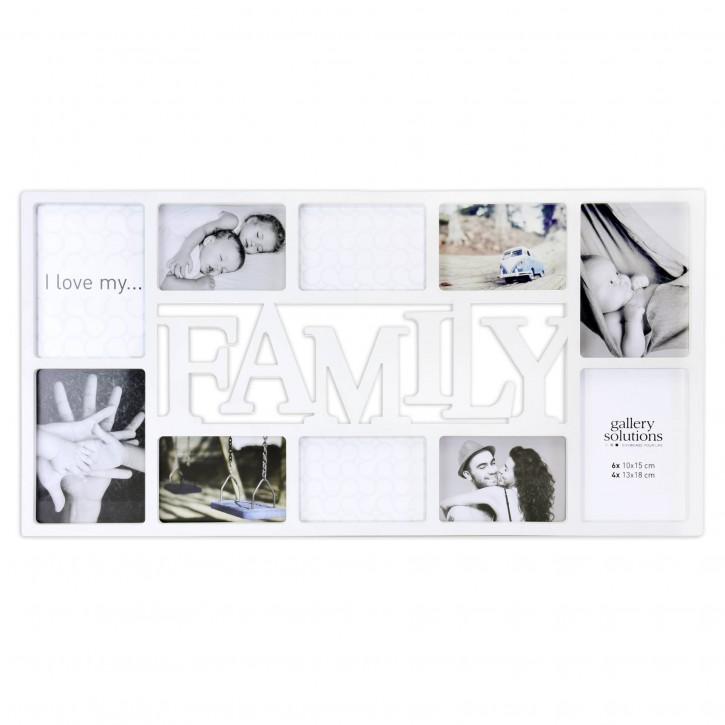 Nielsen Family Collage weiß Kunststoff Galerie       8999331