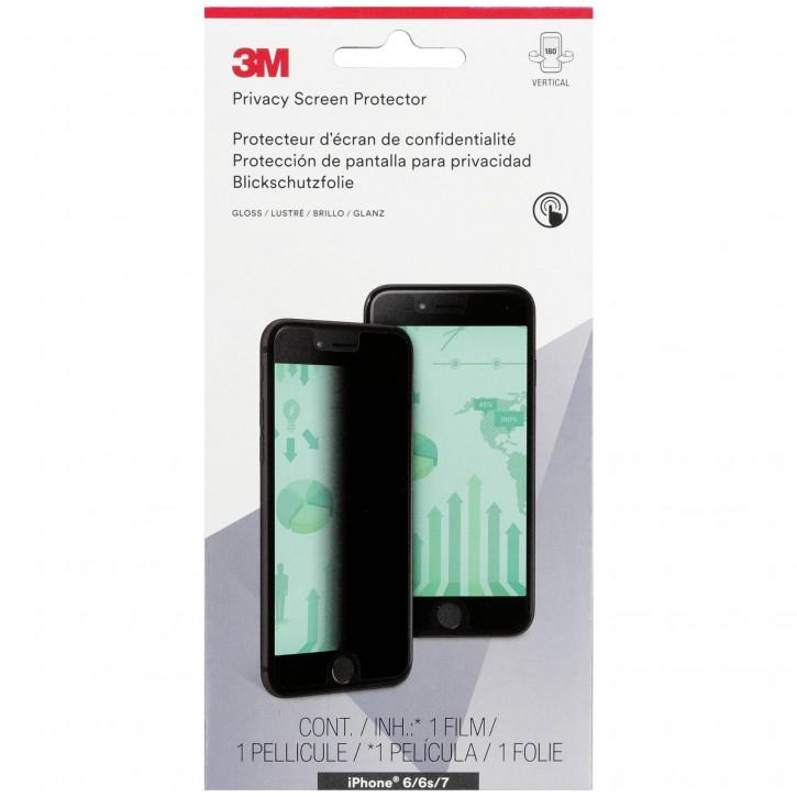 3M Blickschutzfolie für Apple iPhone 6 6s 7 8 Hochformat