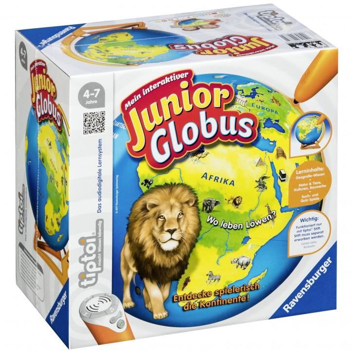 Ravensburger tiptoi (ohne Stift) Mein interaktiver Junior Globus
