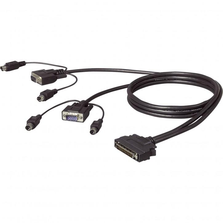 Belkin OmniView Dual-Port PS/2 Kabel 1,8 m