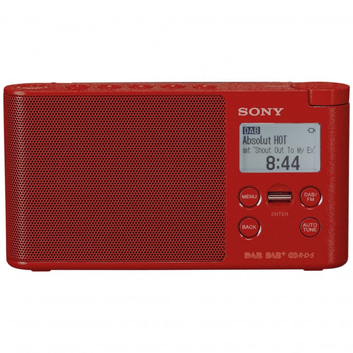 Sony XDR-S41DR rot