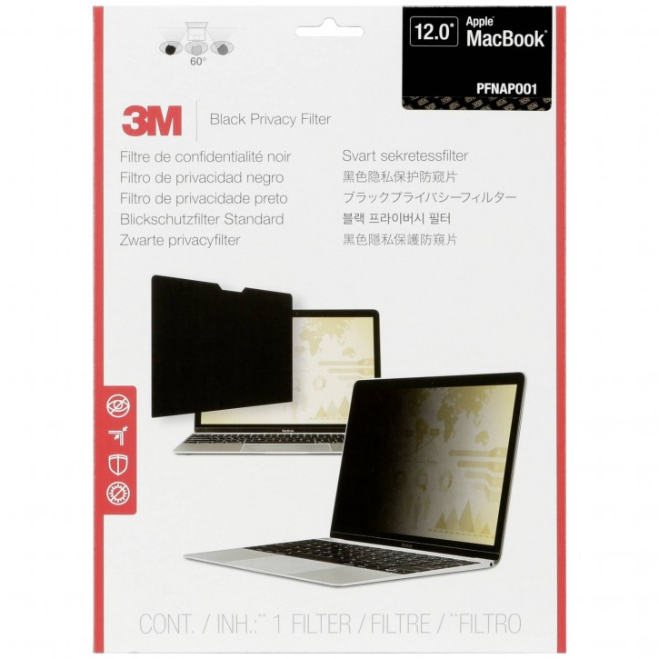 "3M Blickschutzfilter für Apple Macbook 12"" 16:9"