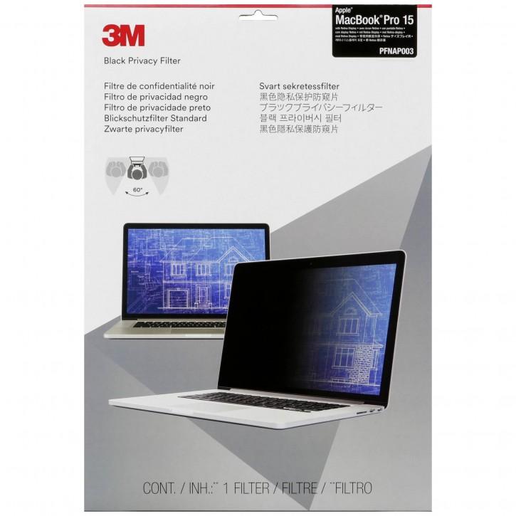 "3M Blickschutzfilter für Apple Macbook Pro 15"" Retina Display"