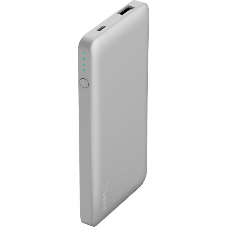 Belkin Pocket Power 5000mAh Akkupack silber      F7U019btSLV