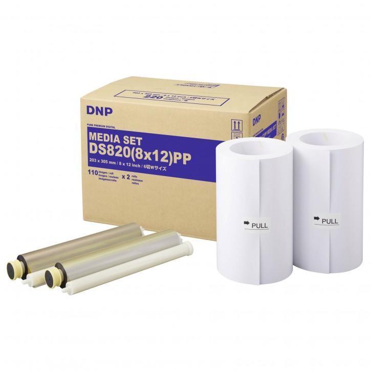DNP DS 820 PP Media Kit 20x30 cm 2x 110 Prints