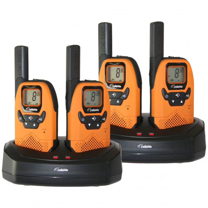DeTeWe Outdoor 8000 Quad Case PMR-Funkgerät