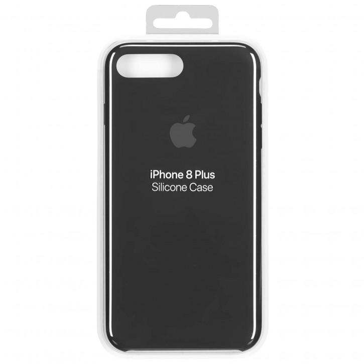 Apple iPhone 8 Plus / 7 Plus Silicone Case Black